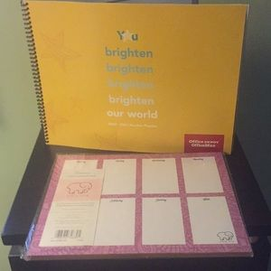 Teacher planner and planning pad